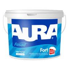Фото  1 Aura Fasad Fort атмосферостойкая краска для фасадов 1807319