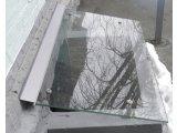 Фото  6 Стеклянный козырек для приямка на нержавеющем каркасе 6863487