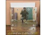 Фото  1 Безрамочное настенное зеркало с подсветкой, размер 86*66 см 2250918