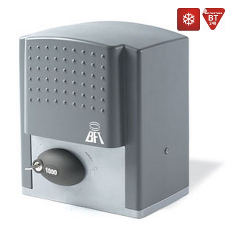 BFT ARES 1000 kit. Комплект автоматики для откатных ворот