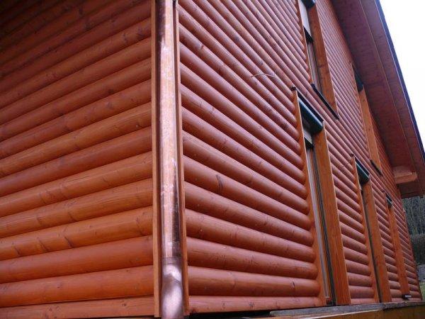 Фото 1 Блок-Хаус (Колода) - відмінний металлосайдінг для Вашого фасаду 327813