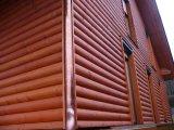 Фото 1 Блок-Хаус (Бревно) — отличный металлосайдинг для Вашего фасада 327813