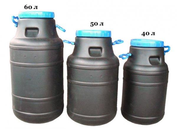 Фото  1 Бидон 80 литров не пищевой бак, бочка, емкость 100 2063295