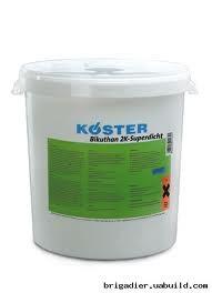 BIKYTHAN-2K битумно-каучуковая двохкомпонентная мастика эластичная для гидроизоляции фундаментов