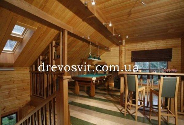 Вагонка деревяна вільха для лазні та сауни. Суцільний матеріал якісної обробки. Доставка за Вашою адресою.