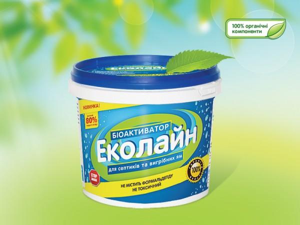 """Биоактиватор """"Эколайн"""" 120 гр"""