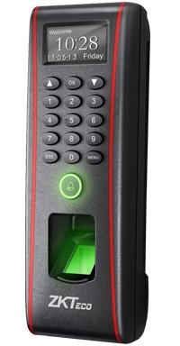 Биометрическая система доступа в помещение по отпечатку пальца. Терминал ZKTeco TF1700.