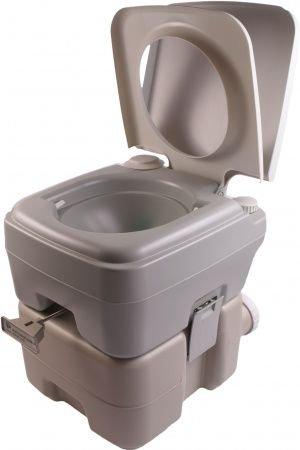 Фото  1 Биотуалет, туалет на кемпинг портативный 20л с сильфонной помпой PT20 PortaFlush 2015884