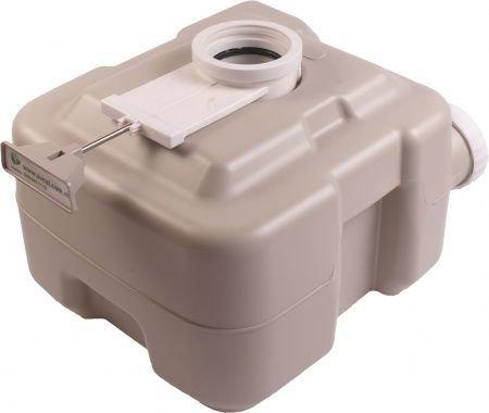 Фото  1 Биотуалет, туалет на кемпинг портативный, комнатный 20л с поршневым насосом 3020 T 1991050
