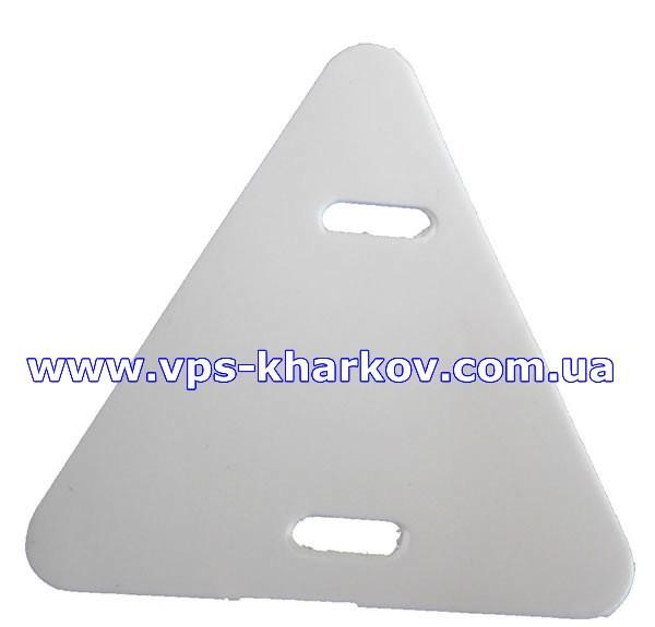 Бирки треугольные маркировочные У136 для проводов и кабелей до 1000В.