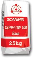 Быстротвердеющий легковыравнивающийся раствор для пола Scanmix CONFLOW 100 BASE