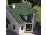 Фото  3 Битумная черепица «Мозаика» «Зеленая ЭКО» 3923035