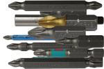 Биты Whirlpower двухсторонние РН1-РН2 60мм в ассортименте (10шт/уп)