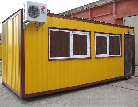 Бытовые контейнера, вагончики, блокпосты