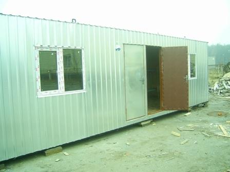 Бытовка строительная на два помещения