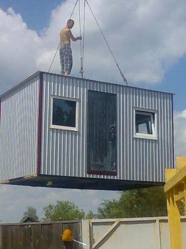 Бытовки строительные по 16 000 грн. с доставкой!