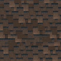 Битумная черепица Кадриль аккорд коричневый
