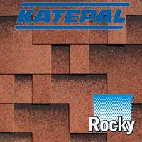 Битумная черепица KATEPAL . Коллекция SUPER Rocky