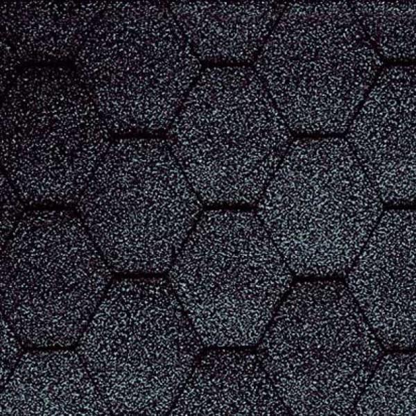 Битумная черепица KATEPAL Classik KL (черный)