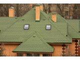 Фото  3 Битумная черепица «Мозаика» «Альпийский луг»(зелёный+черная тень) 3923326