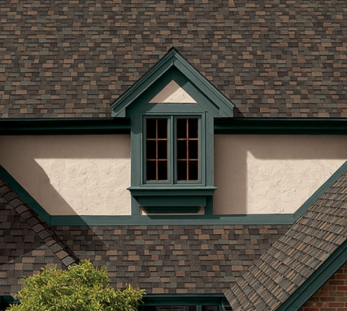 Фото  1 Битумная черепица Owens Corning (США), модель TruDefinition™ Duration® Shingles Designer Colors Collection цвет:agedcopp 85771