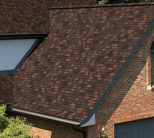 Битумная черепица Owens Corning (США), модель TruDefinition™ Duration® Shingles Designer Colors Collection цвет:sedonac