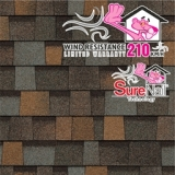 Фото  1 Битумная черепица Owens Corning (США)TRUDEFINITION™ DURATION® AR DESIGNER COLORS COLLECTION 67344