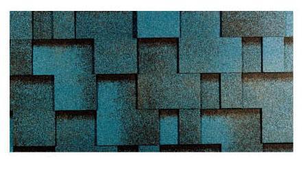 Битумная черепица Тегола Готик, синяя ночь
