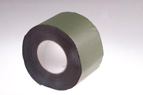 Фото  1 Самоклеящаяся герметизирующая лента 10см Plastter коричневая 1867490