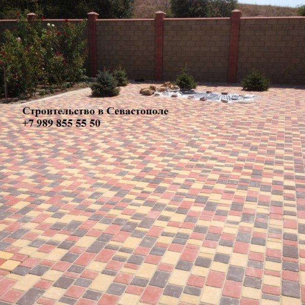 Фото 1 Укладка тротуарной плитки в Севастополе 334396