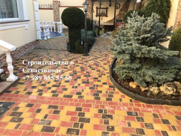 Фото 3 Укладка тротуарной плитки в Севастополе 334396