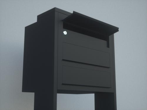 Блочный почтовый ящик