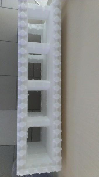 """Блок 35 плотности, размером:1000х250х25 0 мм; соединение: """"Лего""""."""