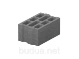 Фото  1 Блок бетонный большой 400*250*200 2033782