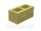 Фото  1 Блок декоративный бетонный, черный, 400*200*200 2033793