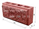 Блок декоративный колотый. Камень заборный 390*190*110 шлакоблок от производителя