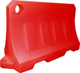 Блок дорожный водоналивной 1200 х 800 х 480 мм 1. Размер (ДхВхШ) - 1200 х 800 х 480 мм,2. Цвет - белый, красный.