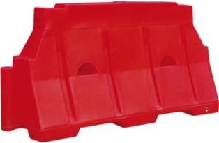 Блок дорожный водоналивной 1500 х 800 х 480 мм 1. Размер (ДхВхШ) - 1500 х 800 х 480 мм,2. Цвет - белый, красный.