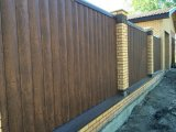 Фото 1 Блок хаус металевий форма колоду 342814