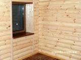 Блок-хаус, Блок хаус сосновый киев. Размеры 35-130-4500мм. Высший сорт, живой сучок ровная геометрия, влажность 10%.