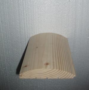 Блок-хаус (блок-хауз, фальшбрус) Толщина 35 мм, ширина 160 мм, длина до 6 м. Материал Смерека, камерная сушка.