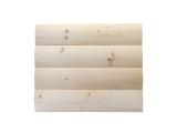 Фото  1 Блок хаус деревянный (имитация бревна, блок-хаус) от производителя. 100% качество. Ель, сосна 2355711