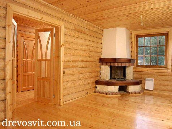 Деревяна шпунтована дошка для підлоги. Сосна 125*35*4000мм. Доставка на Вашу адресу без попередньої оплати.