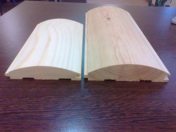 Блок-хаус - имитация бревна всего по 100 грн. за 1 м2. от 500 м2.