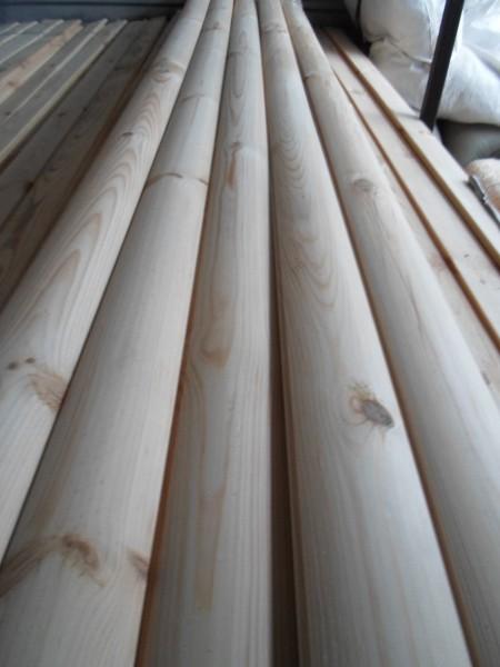 Блок-хаус из сосны первого сорта. 80х25х3000мм или 130х35х4000мм