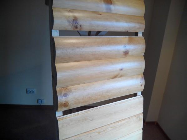 Блок-хаус наружний сорт АВ : высота 135 мм. толщина 34 мм. длина 2,3,4,4.5,6 м.