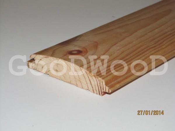 Блок-хаус сосна (внутренний). Длина 2-3м, ширина 0,085, толщина 22 мм. Опт, розница.