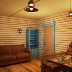 блок-хаус цельный округленный, сорт 1, материал сосна. Ширина 80 мм, толщина 35 мм, длина 4,0-4,5м кв.