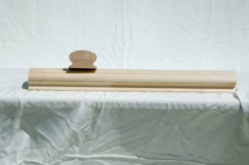 Блок-хауз зрощений без сучків, матеріал - сосна, 34мм х130мм х3000мм (до 6 м)