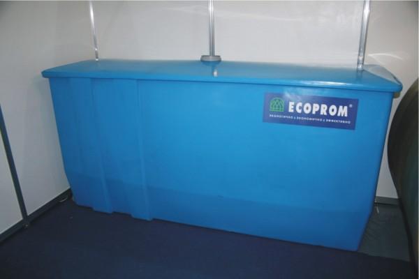Блок-отстойник сточных вод